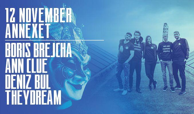 Boris Brejcha & F Serious Label Night tickets at Annexet in Stockholm