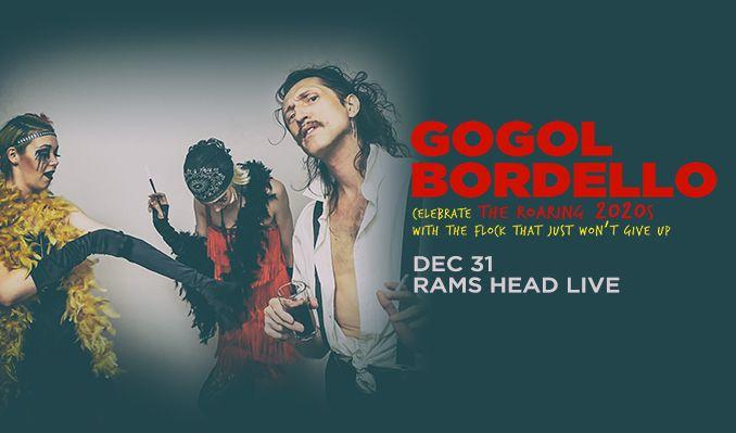 Gogol Bordello tickets at Rams Head Live! in Baltimore