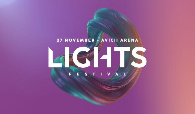 Lights tickets at Avicii Arena in Stockholm