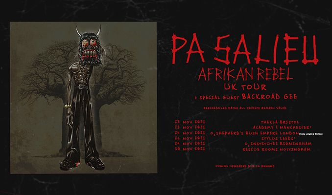 Pa Salieu tickets at The Rescue Rooms, Nottingham