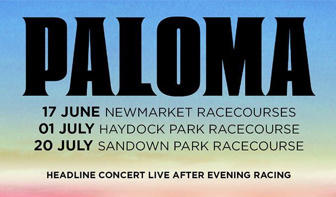 Paloma Faith tickets at Sandown Park Racecourse in Esher