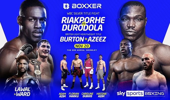 Sky Sports Fight Night tickets at The SSE Arena, Wembley in London