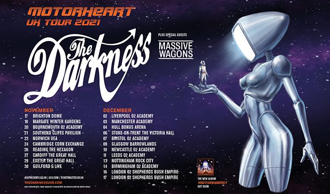 The Darkness tickets at O2 Academy Bournemouth in Boscombe