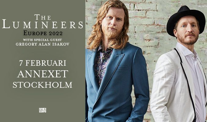 The Lumineers tickets at Annexet in Stockholm