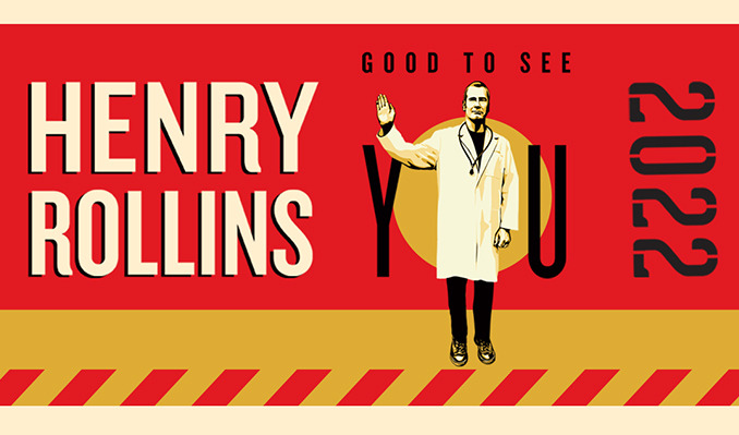 Henry Rollins: Good To See You 2022 tickets at Turner Hall Ballroom in Milwaukee