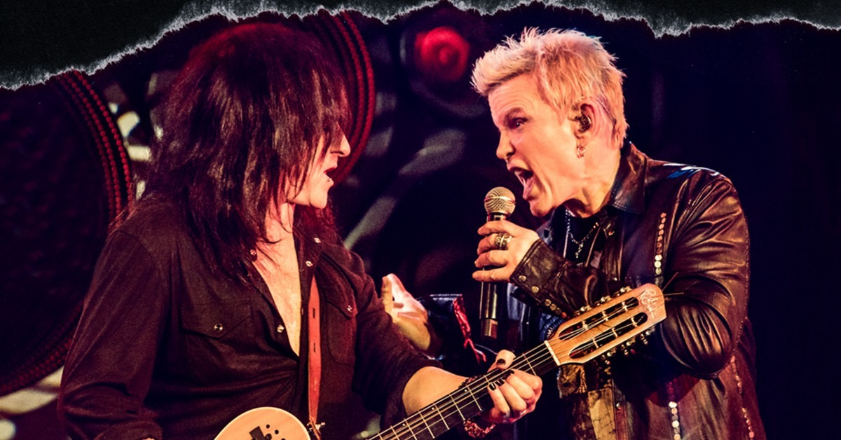 Billy Idol and Steve Stevens: Turned On, Tuned In and Unplugged
