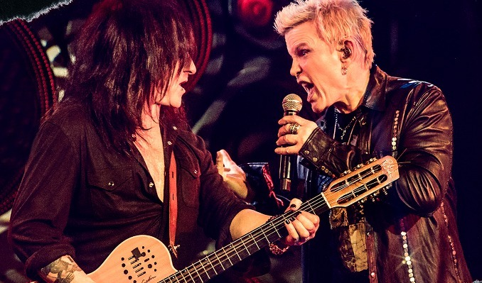 Billy Idol & Steve Stevens tickets at Palace Theatre in St. Paul