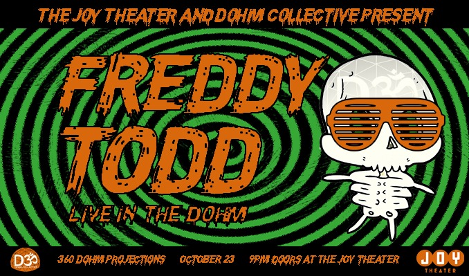 Freddy Todd tickets at Joy Theater in New Orleans