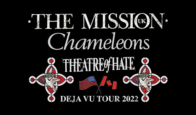Deja Vu Tour 2022 - The Mission UK, Chameleons, Theatre of Hate tickets at Turner Hall Ballroom in Milwaukee