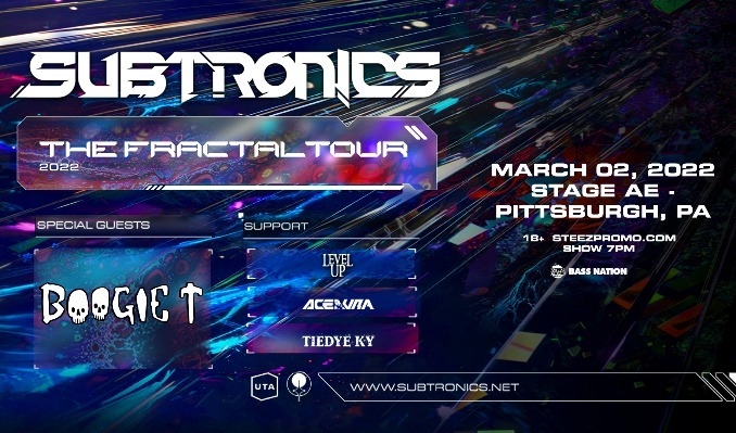 Subtronics tickets at Stage AE in Pittsburgh