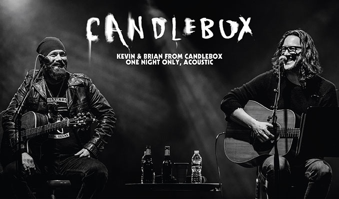 Kevin Martin of Candlebox, Acoustic tickets at Key West Theater in Key West