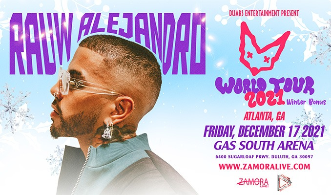 Rauw Alejandro tickets at Gas South Arena in Duluth