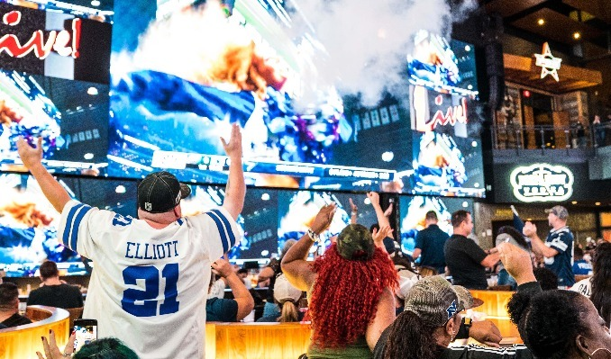 Game Day Live! Presented by Kroger: Dallas vs Las Vegas tickets at Texas Live! in Arlington