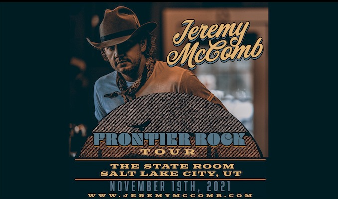 Jeremy McComb tickets at The State Room in Salt Lake City