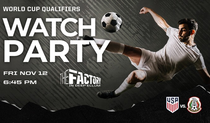More Info for World Cup Qualifiers - Watch Party